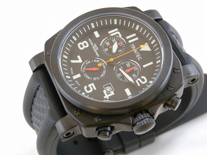 (トリンテック) Trintec ZULU-05 Chronograph クロノグラフ 腕時計 #ZULU-05-CH
