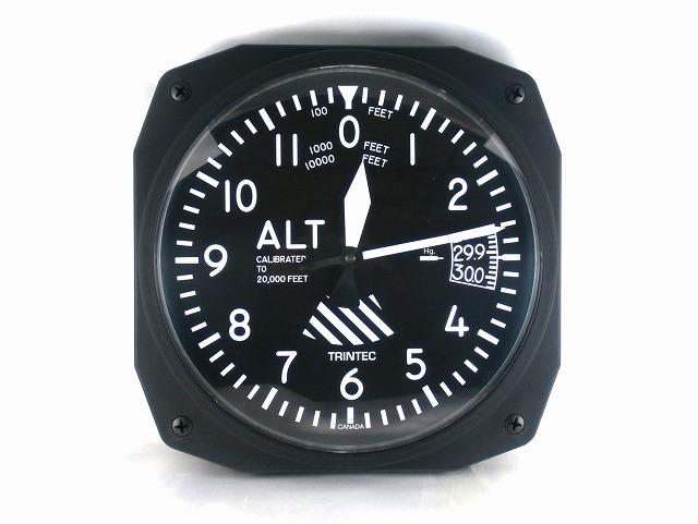 e8aea0ade1 楽天市場】(トリンテック) TRINTEC 【計器パネル】 ALTIMETER 壁掛時計 ...