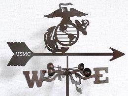 【Garden Airplane】 U.S.M.C.シンボルマーク かざみどり