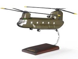 ボーイング CH-47D Chinook Wood Model ダイキャスト