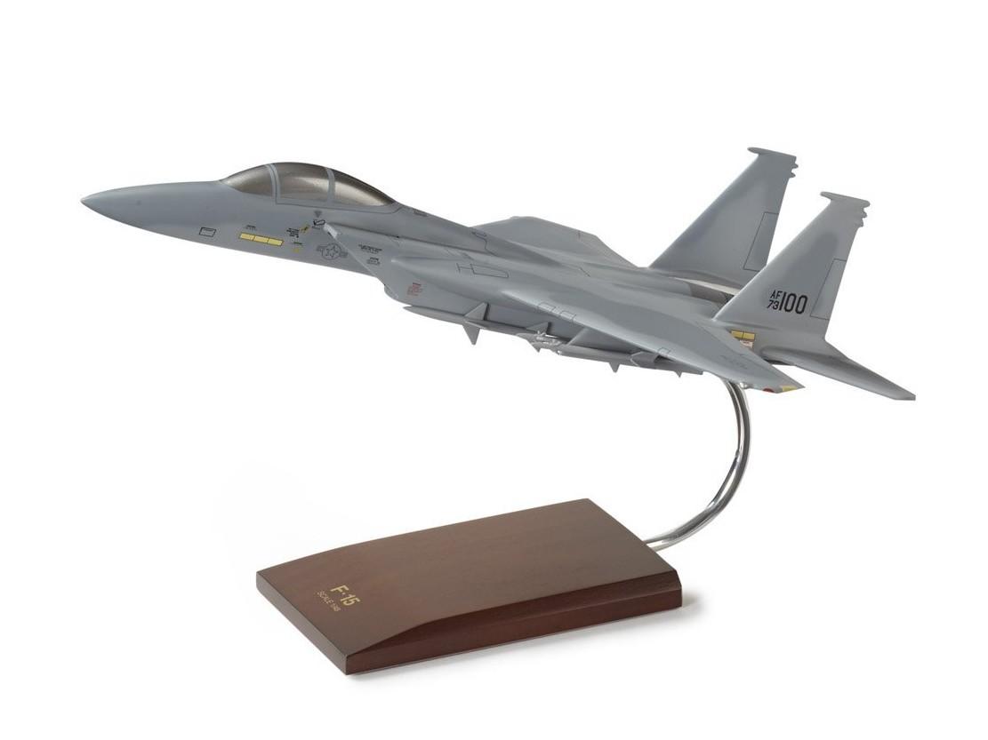 ボーイング F-15A Eagle USAF Wood Model ダイキャスト