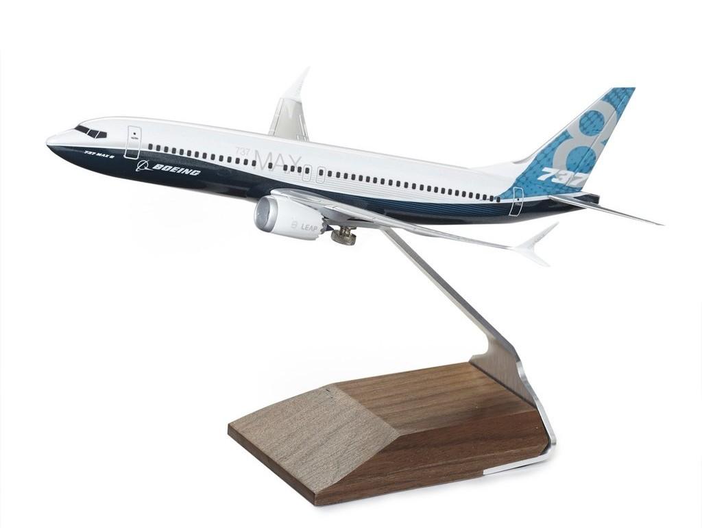 보잉 737 MAX 8 Boeing Livery 1:144 Model 다이캐스트