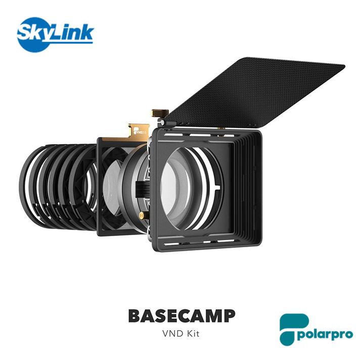 空中およびジンバル用に特別に設計された業界最軽量のマットボックスシステム 送料無料 298g PolarPro 新品未使用正規品 - BaseCamp UltraLight VND Kit レンズフィルターキット 超軽量 マットボックスシステム 一眼レフ