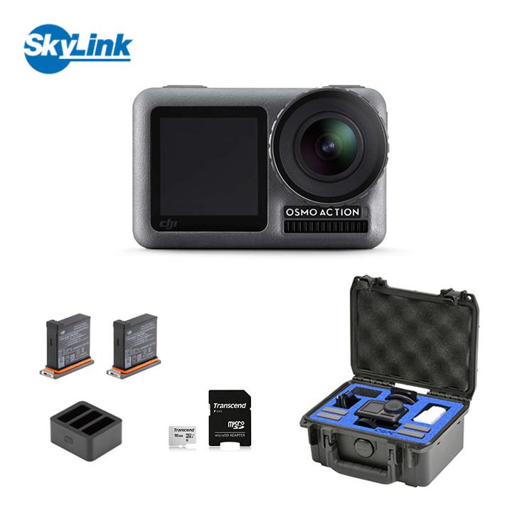 Osmo Action + 充電キット + GPCケース セット アクションカメラ 防水 DJI オズモアクション 4K HDR