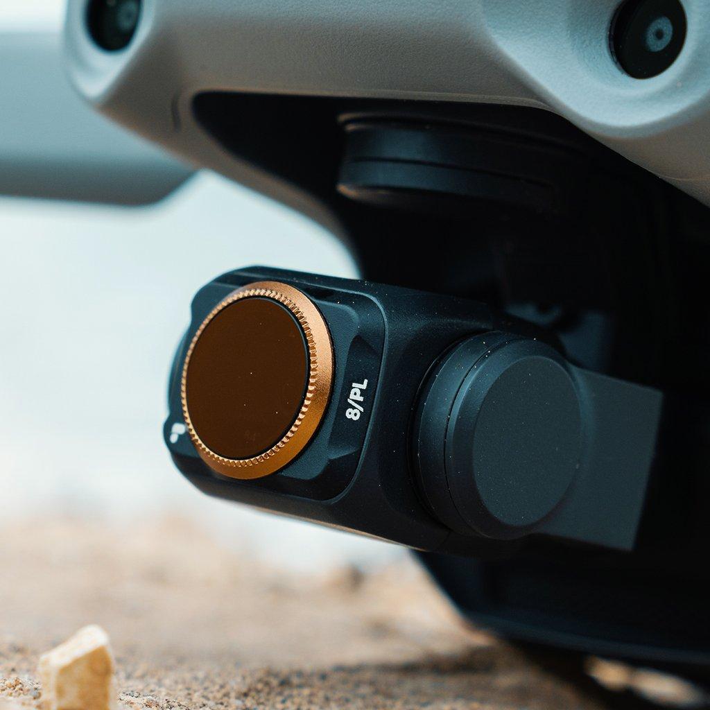 反射と光量をカットし彩度を上げます 新作続 お買い得 PolarPro DJI Mavic Air 2 シネマシリーズフィルターセット PL ND32 ND8 Vivid マビックエアー2 ND16 偏光フィルター