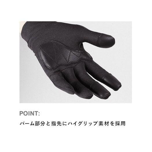 Merino Spin Glove(Carbon) / メリノスピングローブ (カーボン)