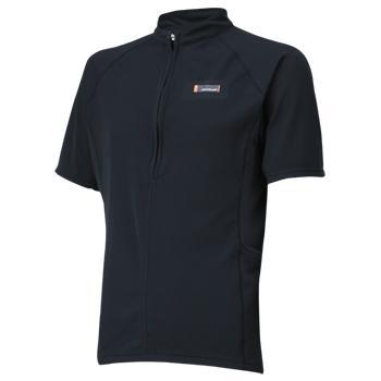 【ONYONE/オンヨネ】 Half Sleeve ZIPUP Shirt Black / ハーフスリーブジップアップシャツ ブラック