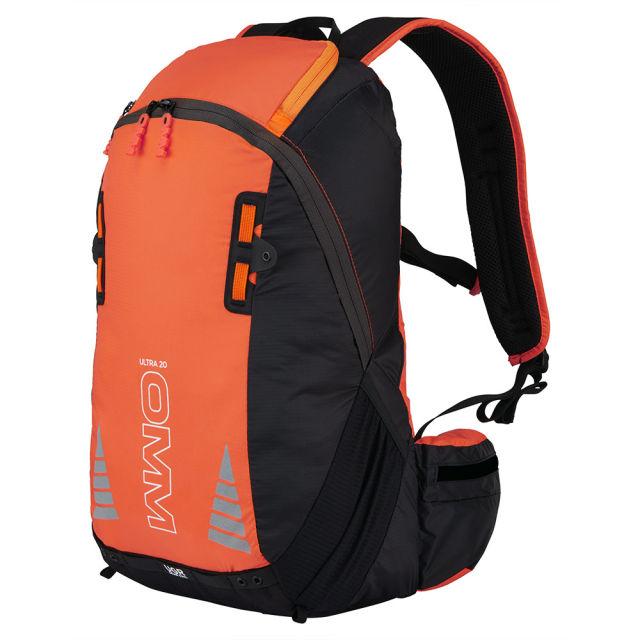 OMM オリジナルマウンテンマラソン ウルトラ 20 (オレンジ・ブラック) バックパック