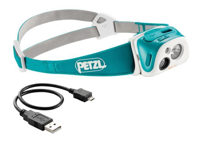 【petzl/ペツル】 TIKKA R+ Head light Turquoise / ティカ R+ ヘッドライト