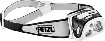 【PETZL/ペツル】 Reactik+ Head Light Black / リアクティックプラス ブラック ヘッドライト 【ラッキーシール対応】