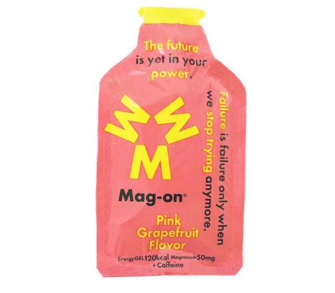 痙攣防止効果のあるマグネシウム配合ジェル Mag-on マグオン Energy Gel Grapefruit 国産品 評価 Flavor Pink ピンクグレープフルーツ味 エナジージェル