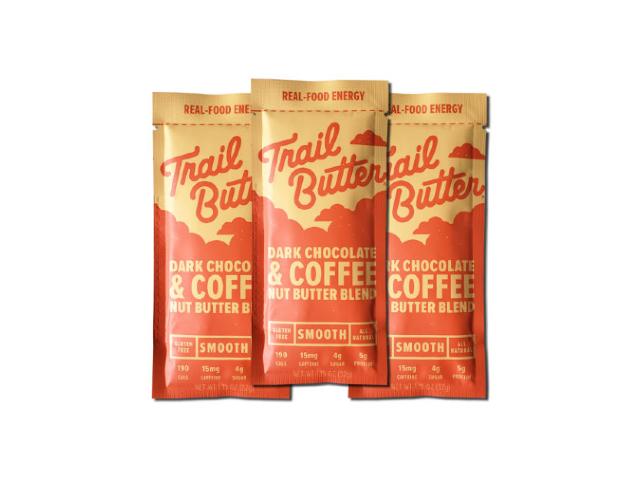 長距離レースや縦走におすすめ TRAIL BUTTER TBスムース ダークチョコレートコーヒー プレゼント セール 特集 ミニ 3個セット