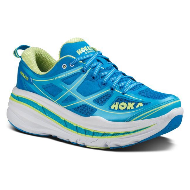 【HOKA ONE ONE/hoka one one/ホカオネオネ】 STINSON 3 Ws LADYS Road Running Shoes / スティンソン3 レディース ロードランニング シューズ (DRESDEN BLUE / BLUE ATOLL)
