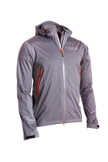 【OMM/オリジナルマウンテンマラソン】omm Kamleika Race Jacket II New - Grey / カムレイカ レース ジャケット 2 グレー