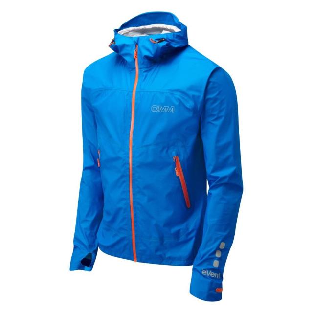 【OMM/オリジナルマウンテンマラソン】 Aether Blue Orange Rain Wear / イーサー ブルーオレンジ レインウェア