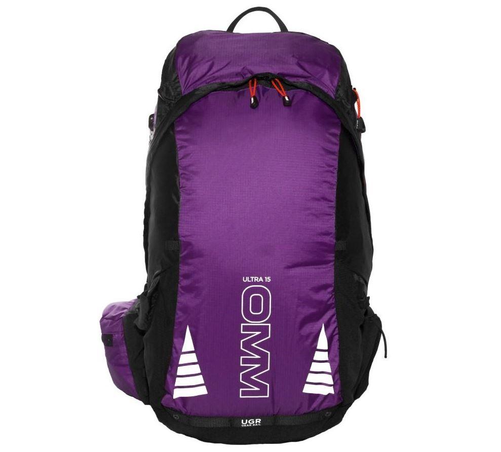 【OMM/オリジナルマウンテンマラソン】 Ultra 15 (Purple Black) / ウルトラ15 パープルブラック 【ラッキーシール対応】