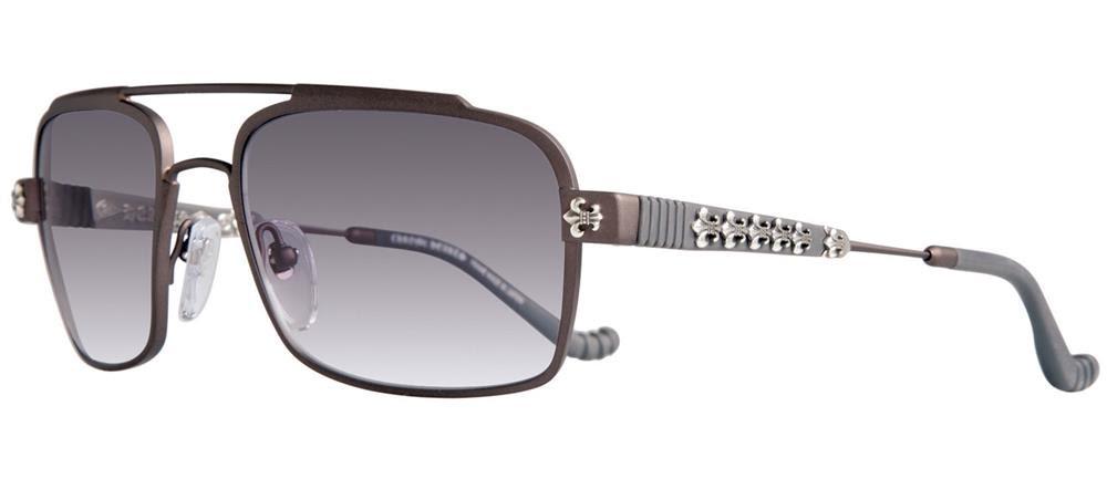 GONADGO chrome hearts sunglasses silver mat new work