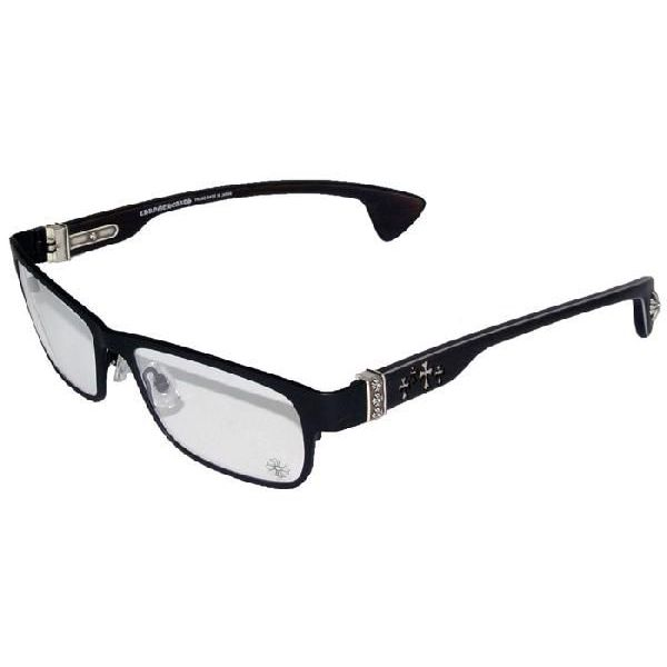 狄克逊峪 C / 哑光黑檀木铬心眼镜及眼镜