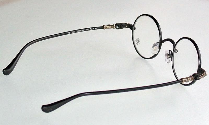 WOLFY铬赫茨眼罩/眼镜黑色