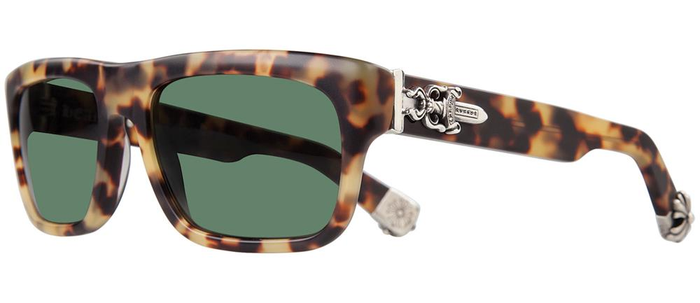 SLUSS BUSSIN E-57 chrome hearts sunglasses black lens