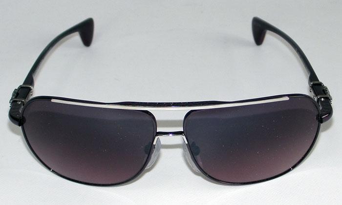 Black Silver Cherry Shiny HankChrome Sunglasses Hearts qzVSGULMp