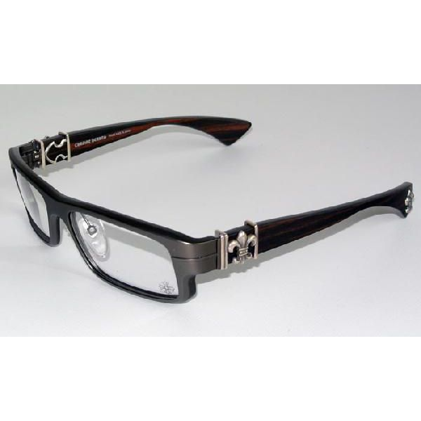 DSL (in glasses) chrome hearts eyewear マットダークブラウン and ebonywood