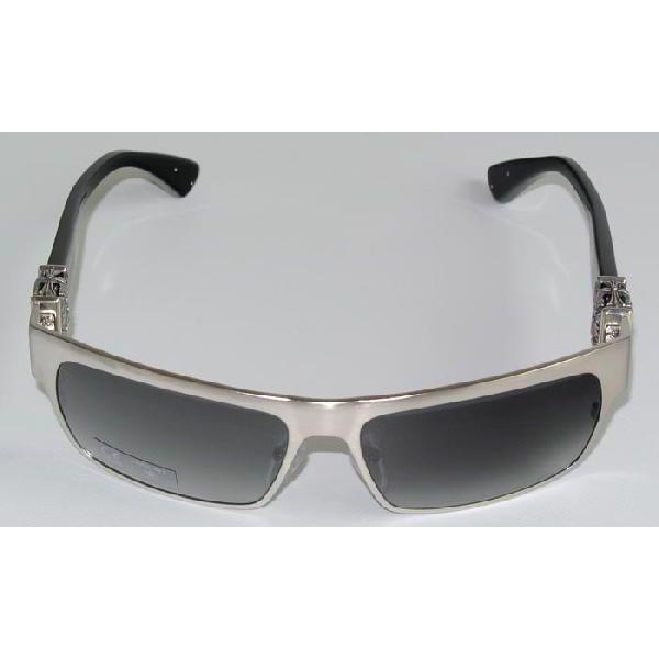 ac78a4a6903 SKYTREK  FLAVOR SAVER chrome hearts sunglasses BRUSHED SILVER BLACK ...