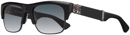 BALTHY chrome hearts sunglasses Black