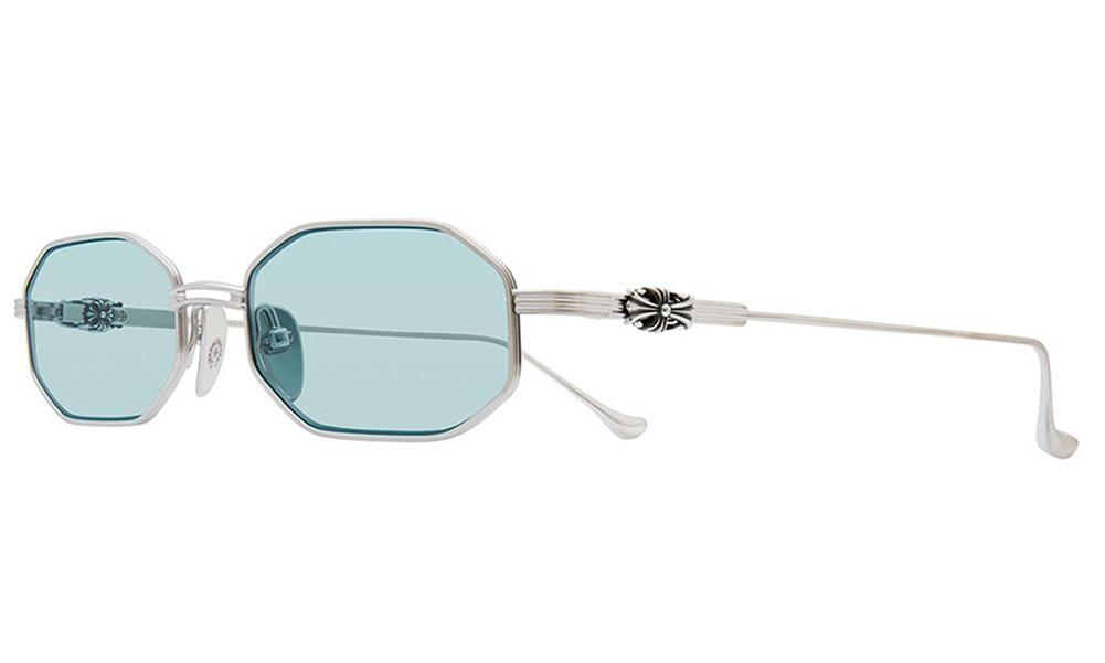 CHROME HEARTS BLAME STARKS Shiny Silver 54-19-148 クロムハーツ サングラス 2020 Eyewear Glasses