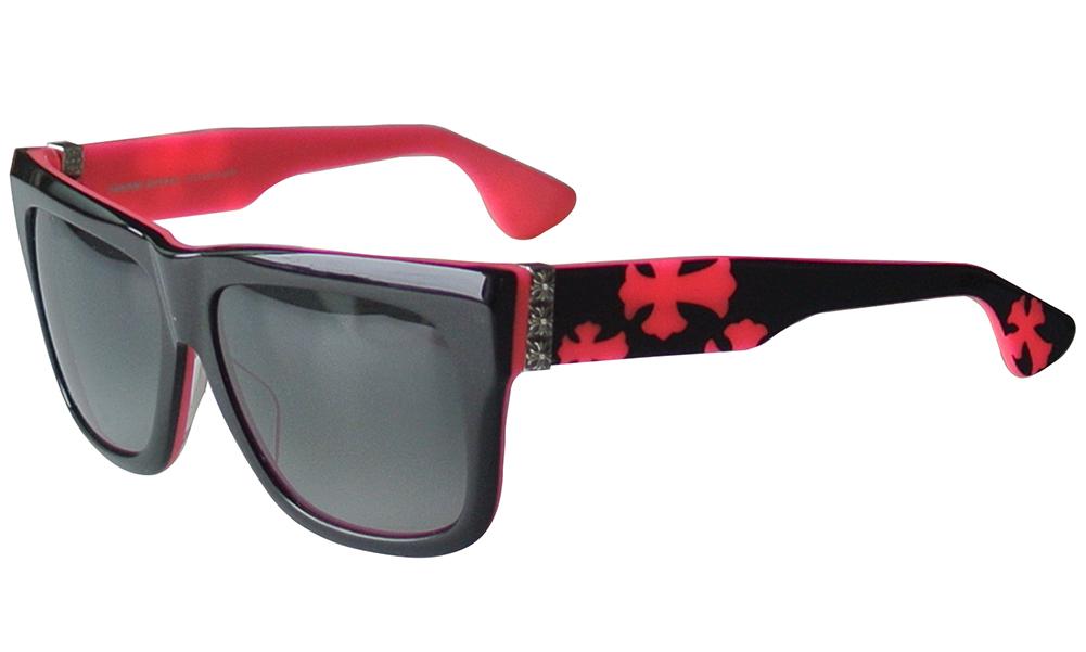 CHROME HEARTS SLHORE Black Punk Rock Pink 57-16-140 サングラス 2020 Eyewear Glasses