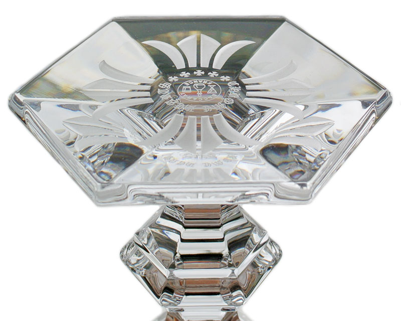 CHROME HEARTS BACCARAT PARFAIT(HARDCORE) CROSS chrome hearts baccarat parfait glass