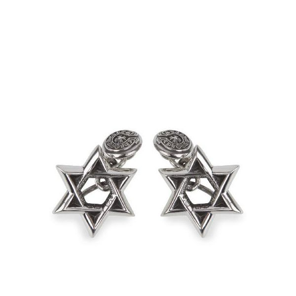 CHROME HEARTS SMALL CH STAR OF DAVID CUFFLINKS クロムハーツ スモール CH STAR OF DAVID  カフリンクス