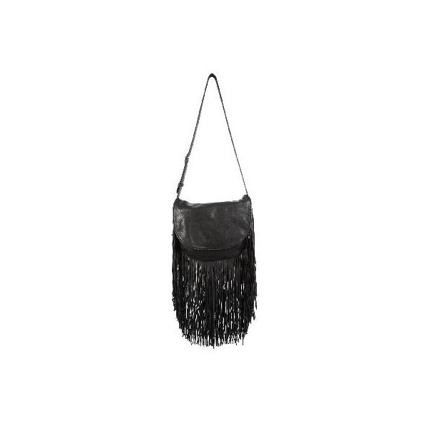 CHROME HEARTS BAG-JOJO/BLACK MED WITH LEATHER /FRINGE/CHARMS クロムハーツ バッグ JOJO フリンジ