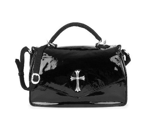 CHROME HEARTS SGL SPIKE DARLIN RICHIE SHOULDER BAG クロムハーツ DARLIN R ICHIEバッグ SGLスパイク  ブラック