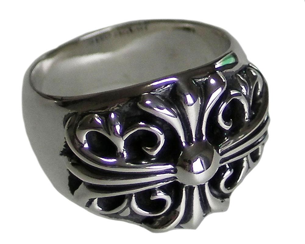 Chrome hearts keeper ring black rhodium