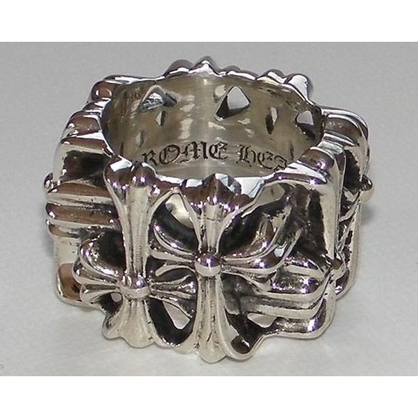 CHROME HEARTS CEMETERY RING クロムハーツ セメタリーリング