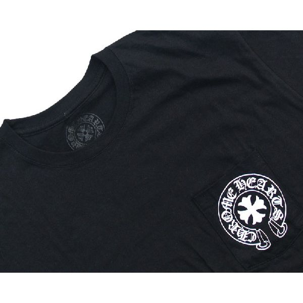 a9d6be5463cb CHROME HEARTS HALF SLEEVE T-SHIRT HORSESHOE  CH PLUS chrome hearts short  sleeves T-shirt horseshoe  CH plastic