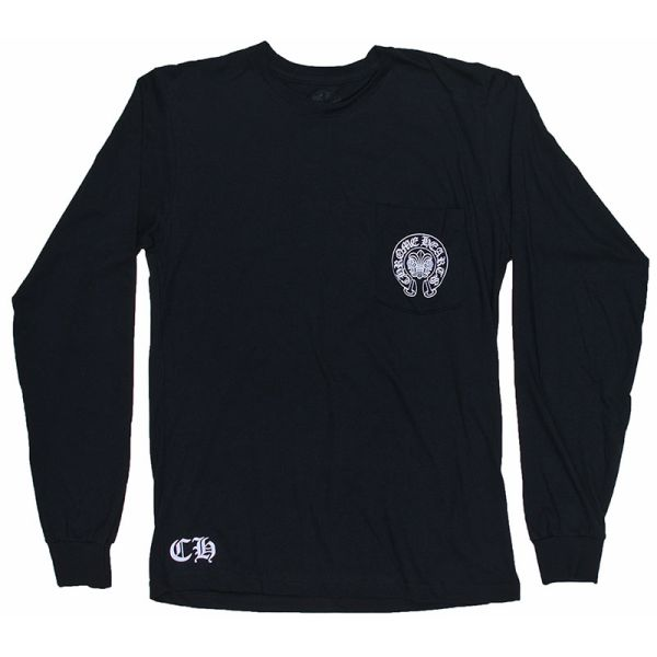 f6d7ccb456ab SKYTREK  CHROME HEARTS MANHASSET LONG SLEEVE T-SHIRT