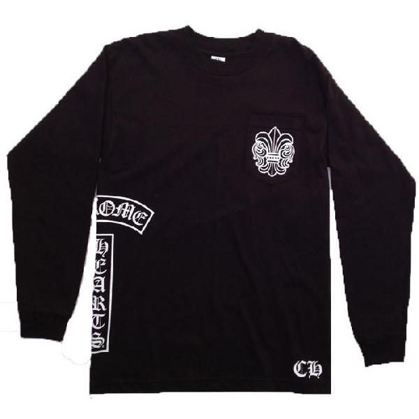 Cuori Manica Lunga T-shirt EBXKh4b