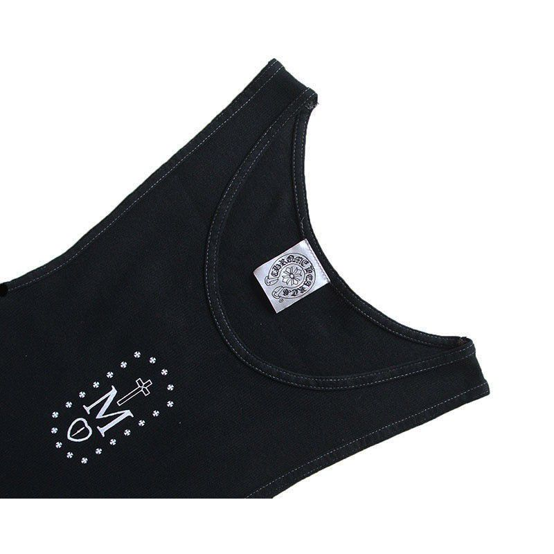 CHROME HEARTS RIB TANK MAPPLE THORPE铬赫茨肋条容器MAPPLETHORPE协作
