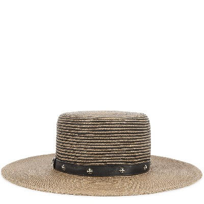 CHROME HEARTS FEDORA DUMPSTER DIVING CH/PLUS ROW HAT クロムハーツ FEDORA ハット