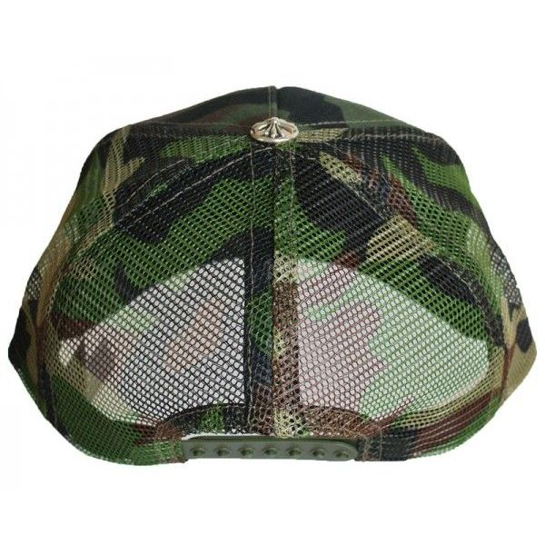 Chrome hearts Trucker Cap Hollywood limited fuck camouflage
