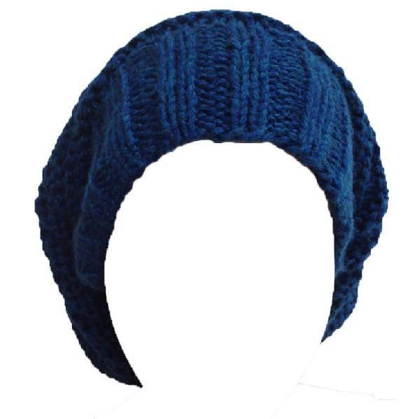 クロムハーツ ハットビーニー SLOUCHY / ブルー 新作帽子
