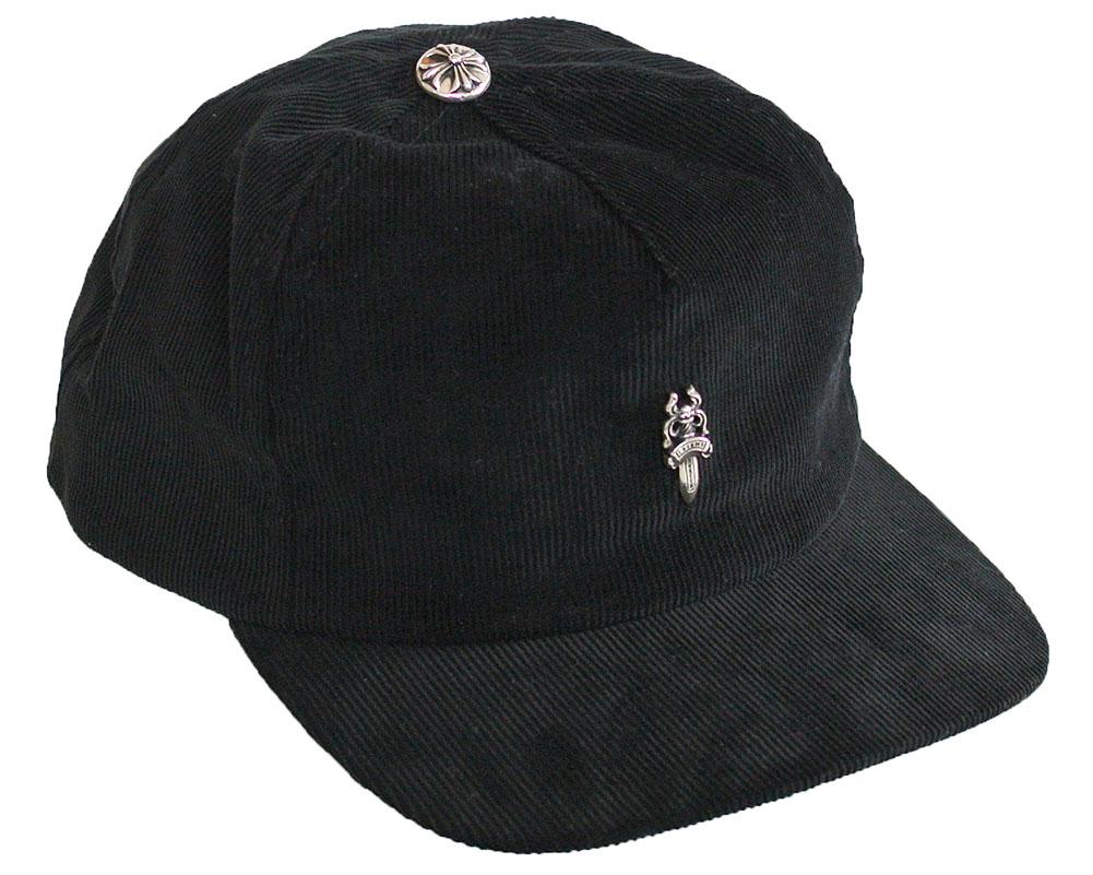 CHROME HEARTS TRUCKER CAP SLOUCHY 5 DAGGER クロムハーツ トラッカーキャップ SLOUCHY 5 パネルキャップ ブラック  シルバーダガー #5