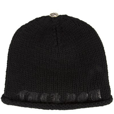 CHROME HEARTS CASHMERE BEANIE CAP FUCK YOU クロムハーツ カシミア ビーニーキャップ FUCK YOU