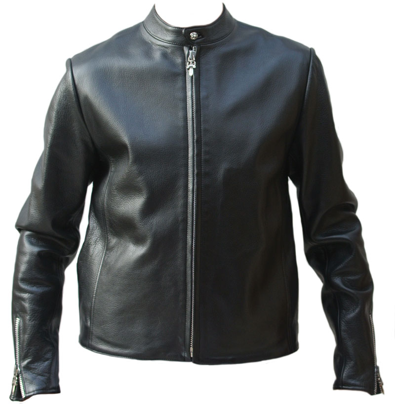 60696f6fc91 Chrome hearts leather jacket  RACING  2/ racing leather   Black XL size