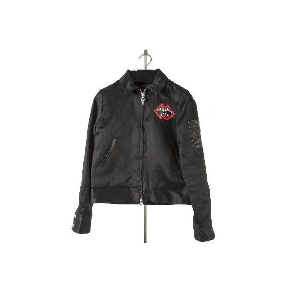 fc5dbf75a883 CHROME HEARTS LEATHER JACKET chrome Hertz men leatherette jacket SWEET  CHEECKS. Contact Shop