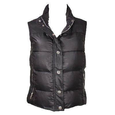 70f075dc8f166 CHROME HEARTS STIFF VEST V1 POLY chrome ladies STIFF VEST V1 POLY cross  black