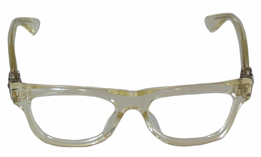 20570b4ab90a SKYTREK  HARD  WHEAT CRYSTAL chrome hearts eyewear (glasses ...