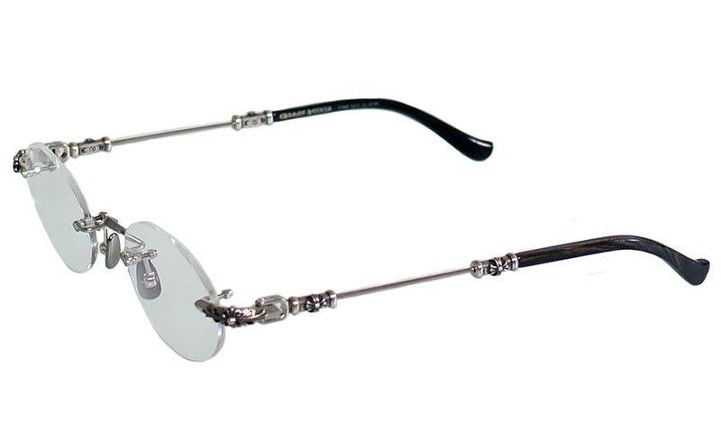 4cc31aae9a24 SKYTREK  PILLS II PLATINUM chrome hearts eyewear